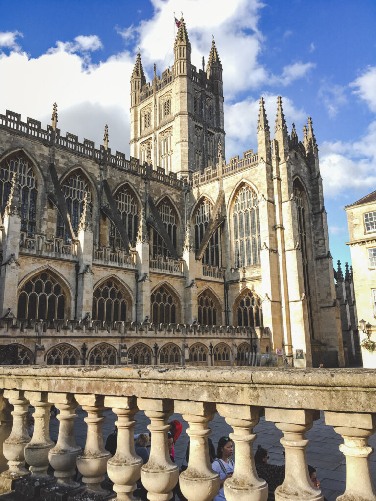 The Abbey is a must-visit spot during your 24 hours in Bath!