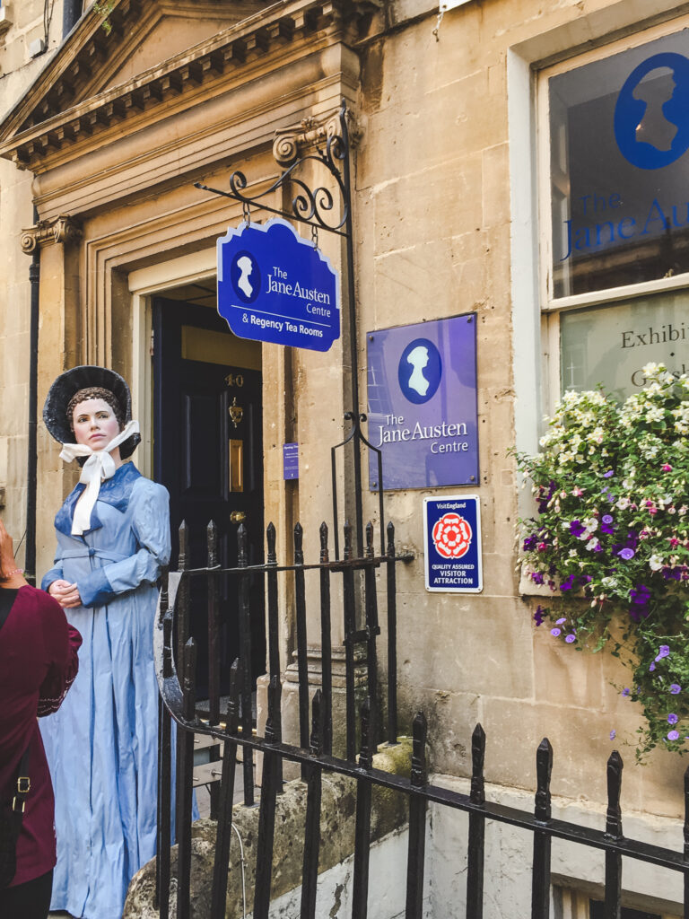 The Jane Austen Centre in Bath, England.