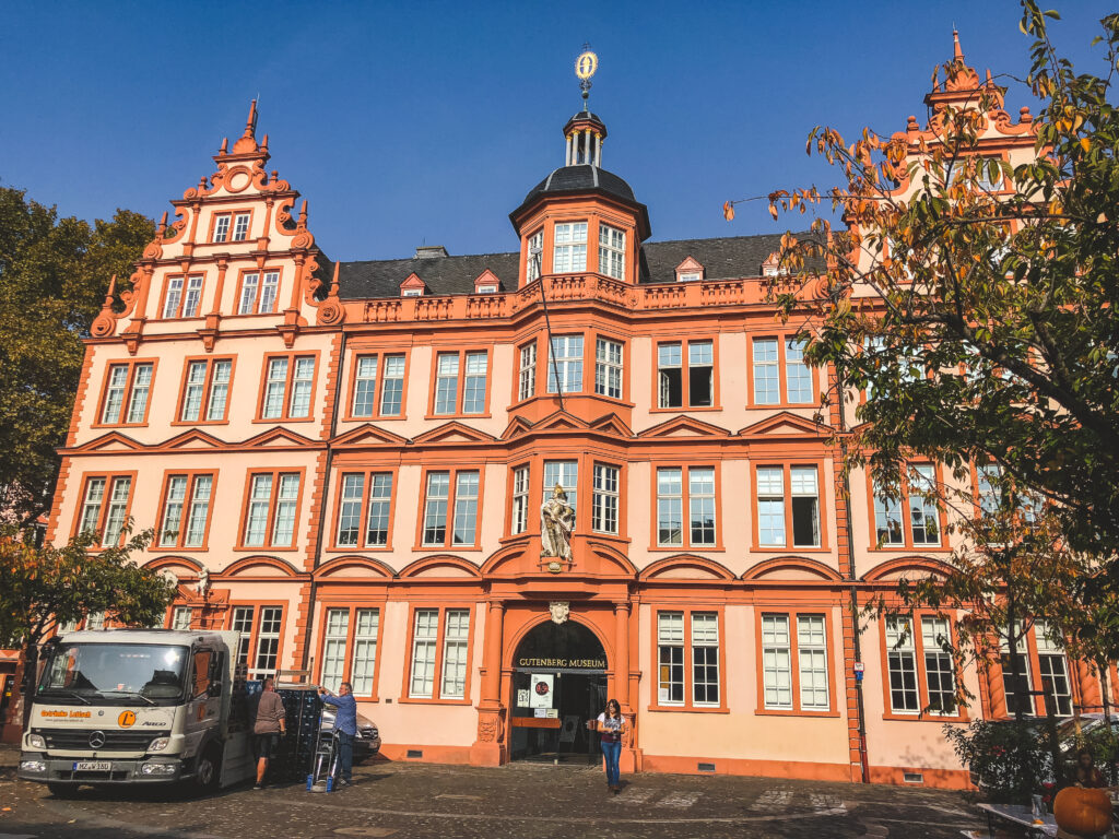 The Gutenberg Museum commemorates Johannes Gutenberg and is a necessary experience for your 1 weekend in Mainz