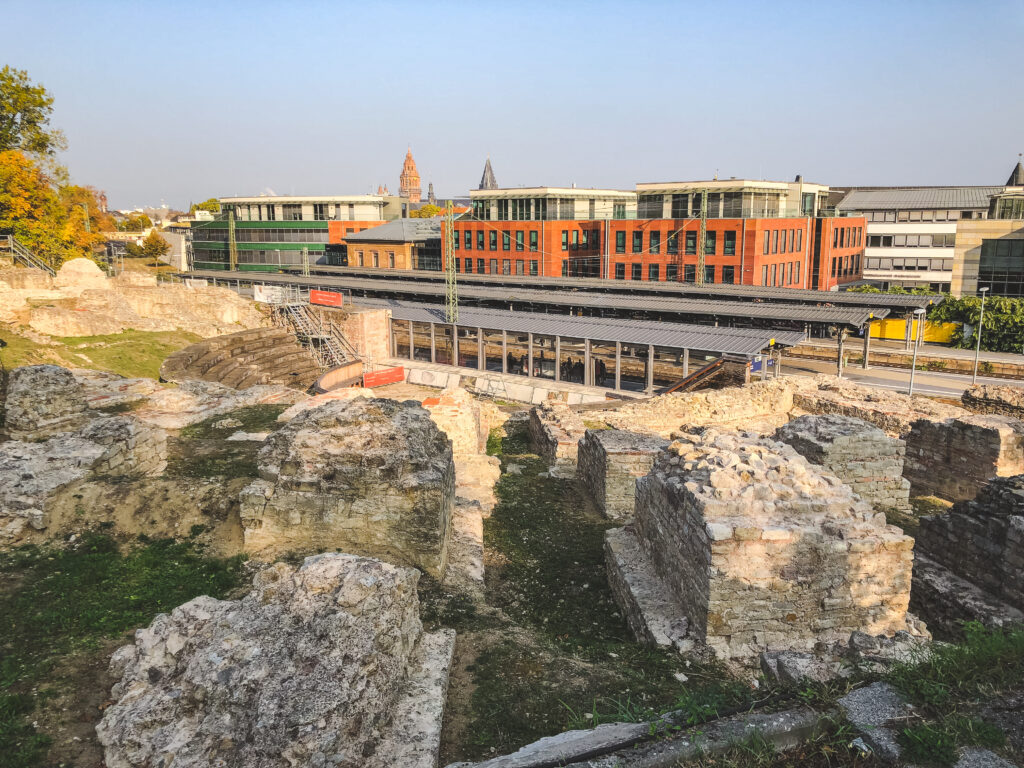 Mainz was once known as Mogontiacum and holds Roman Theatre ruins that you must visit during your 1 weekend in Mainz