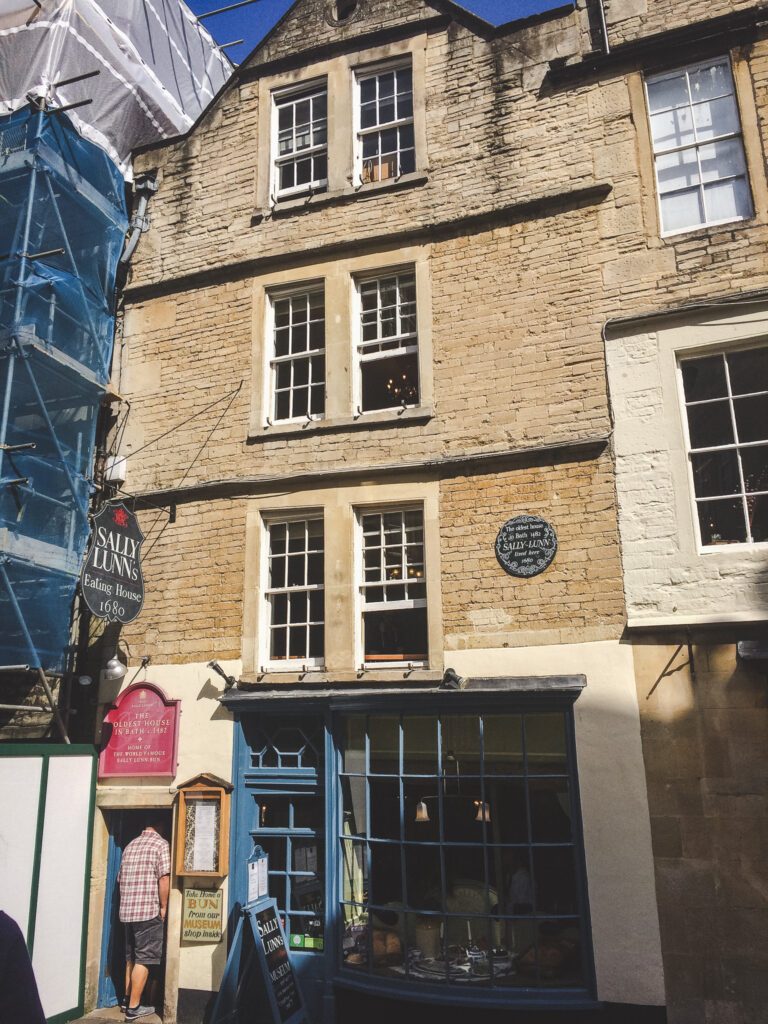 Sally Lunn's House is one of the oldest buildings in Bath, England.