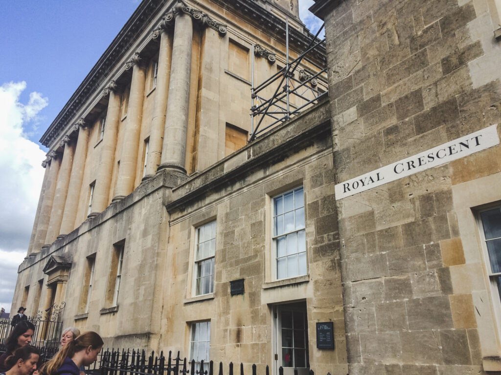 The Royal Crescent should be your fourth stop during your visit to Bath.