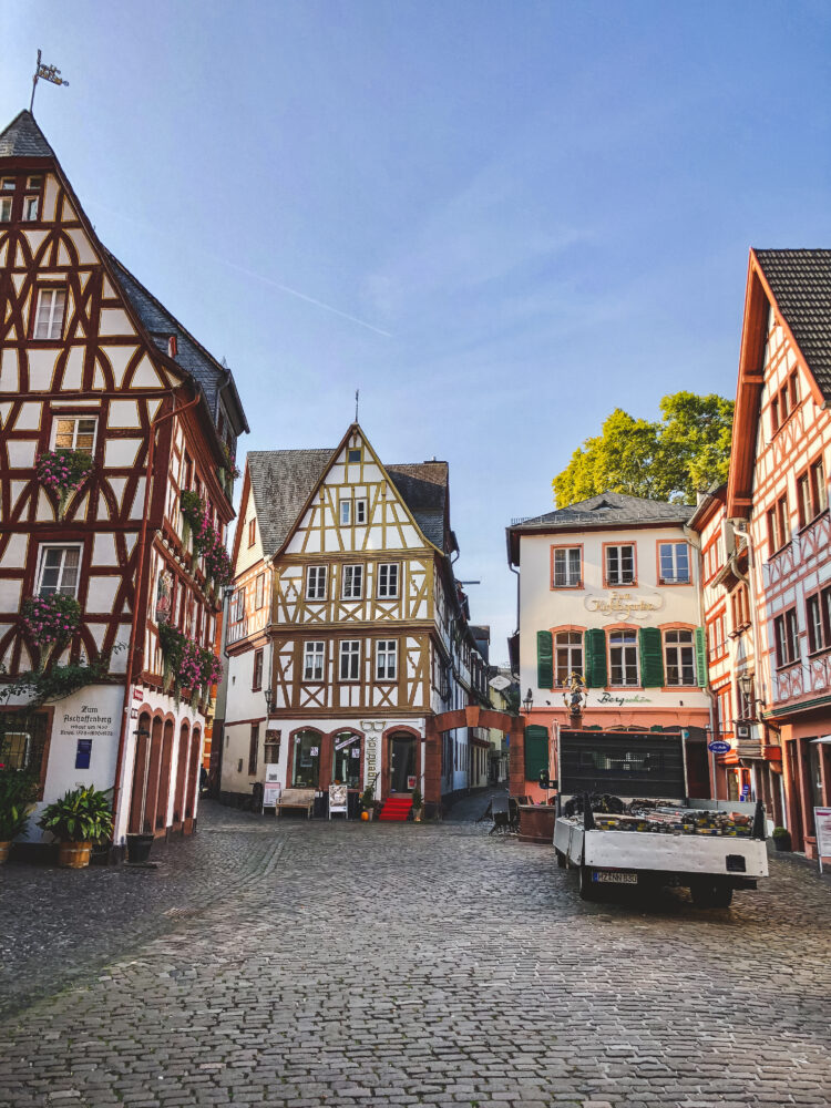 Mainz is Frankfurt's little sibling that has a much more historic and charming feel. Spend 1 weekend in Mainz, the home of Gutenberg, and enjoy the culture!
