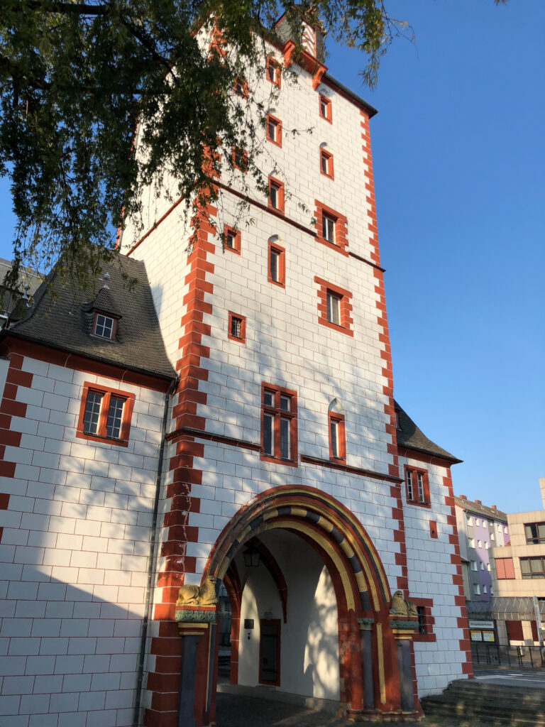 The Wooden Tower and Iron Tower were two main vestiges of Mainz' defensive wall