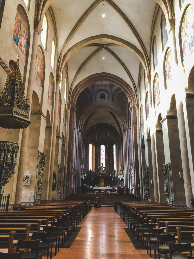 The Mainzer Dom is over 900 years old