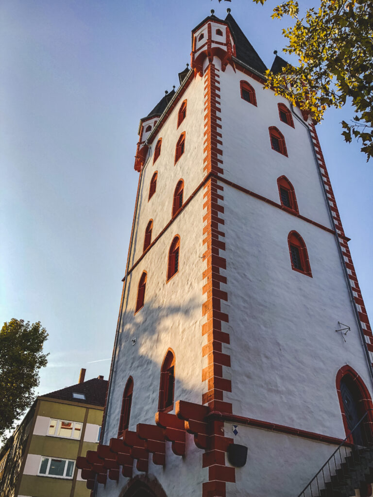 Both towers were raised in the 1200's and have a long history in Mainz