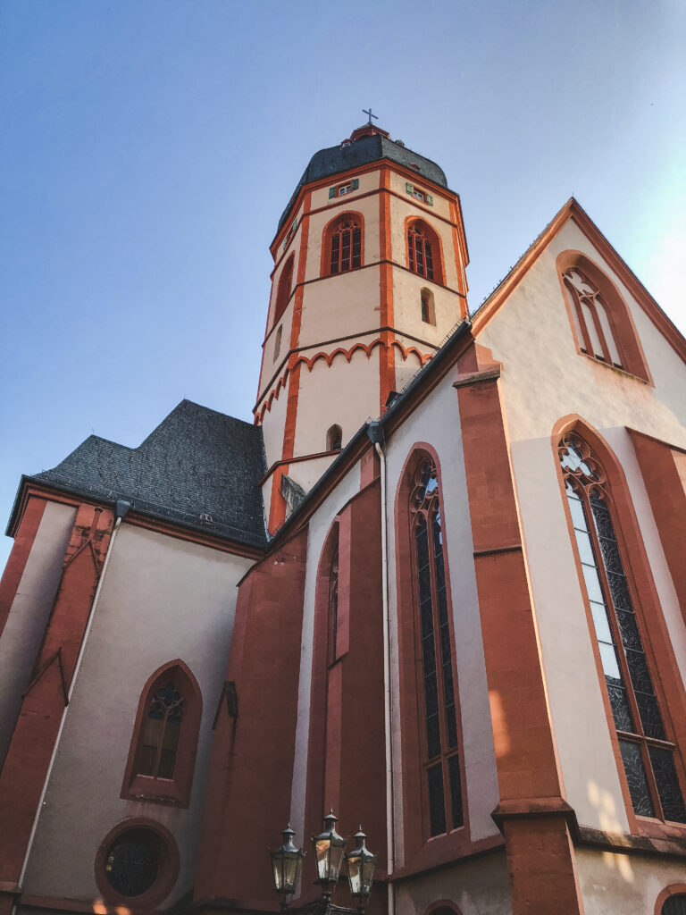 Stephanskirche is one of the most important churches in Mainz that you must visit during your 1 weekend in Mainz