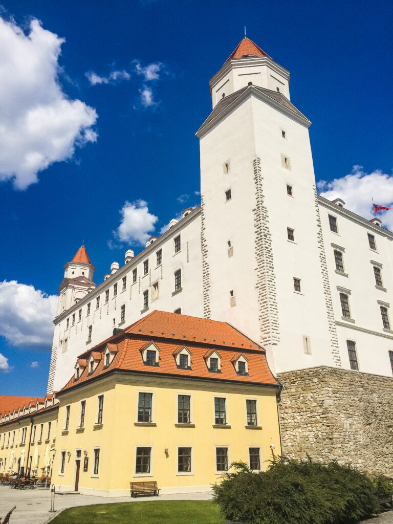 Bratislava Castle should be your first stop during your 1 day in Bratislava