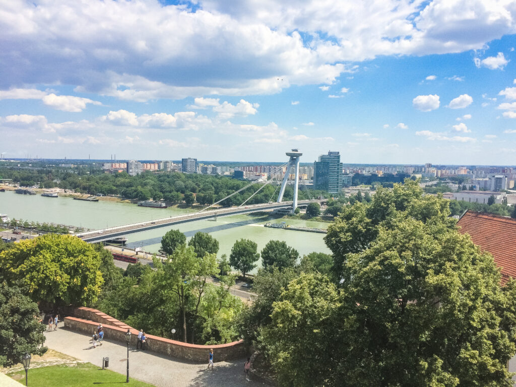 The city is not too big so you can fit in lots during your 1 day in Bratislava
