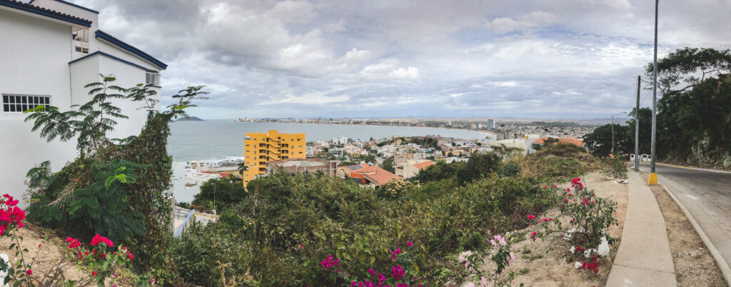 El Faro lighthouse hike gives you a great view of the city