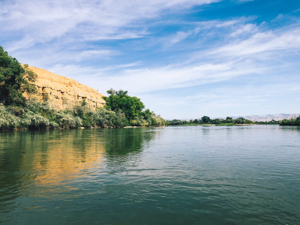 The Colorado River is great for rafting and kayaking
