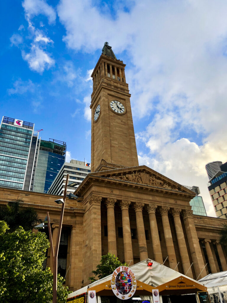Brisbane City Hall is Australia's largest city hall