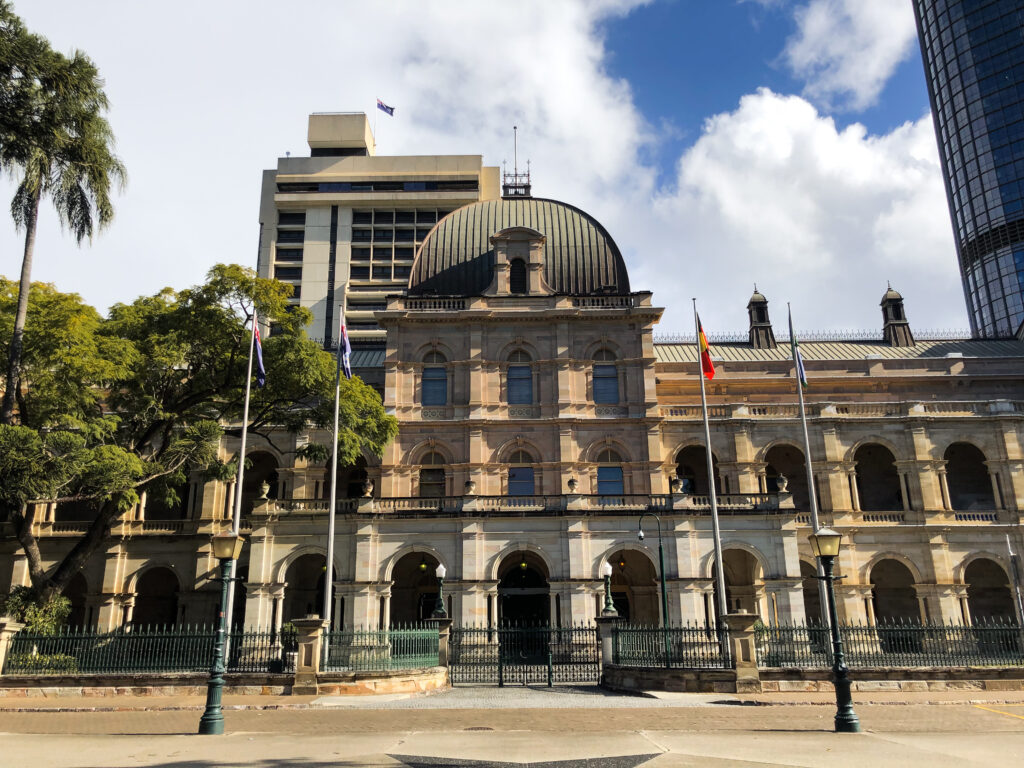 Parliament House is Queensland's premier heritage building and one of Brisbane's best-known landmarks.