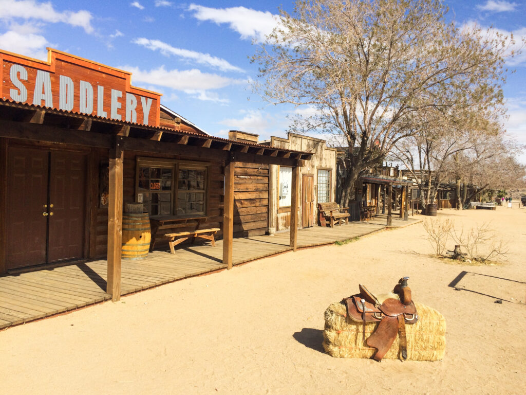 Pioneertown in the Yucca Valley