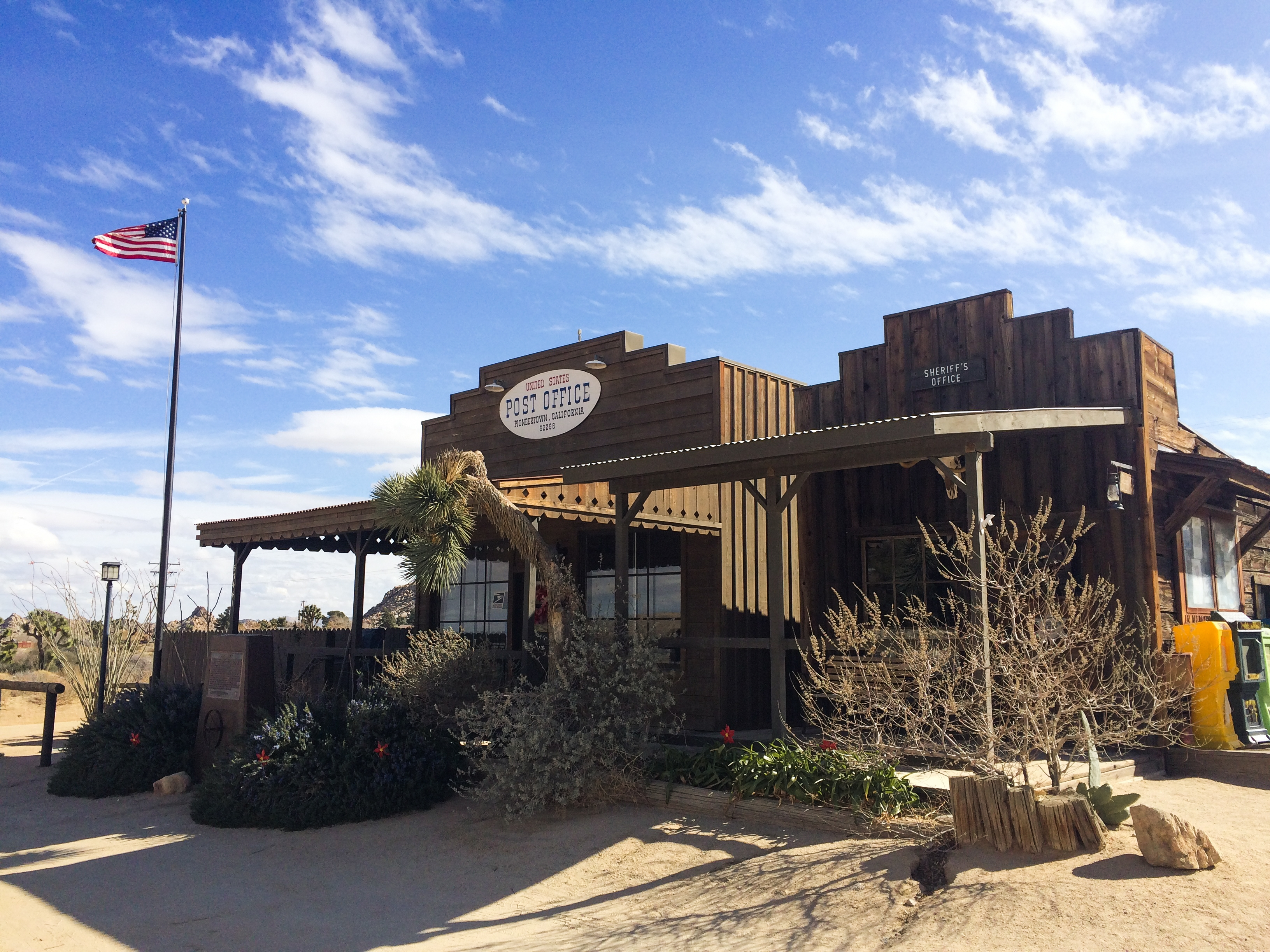 Visiting Pioneertown from Palm Springs, California