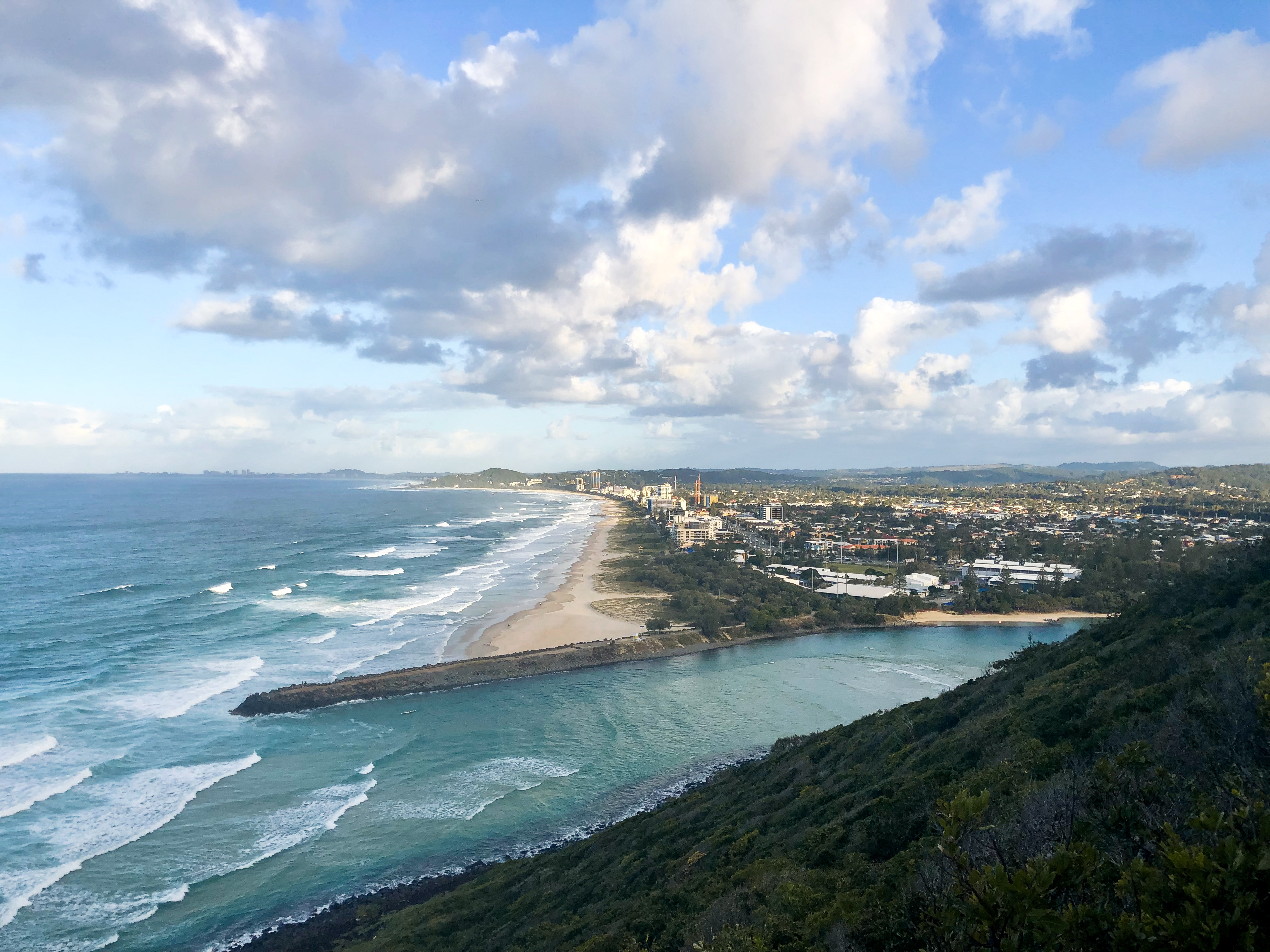 You HAVE to see the gorgeous view from Burleigh - definitely one of the Top 4 Day Trips From Brisbane