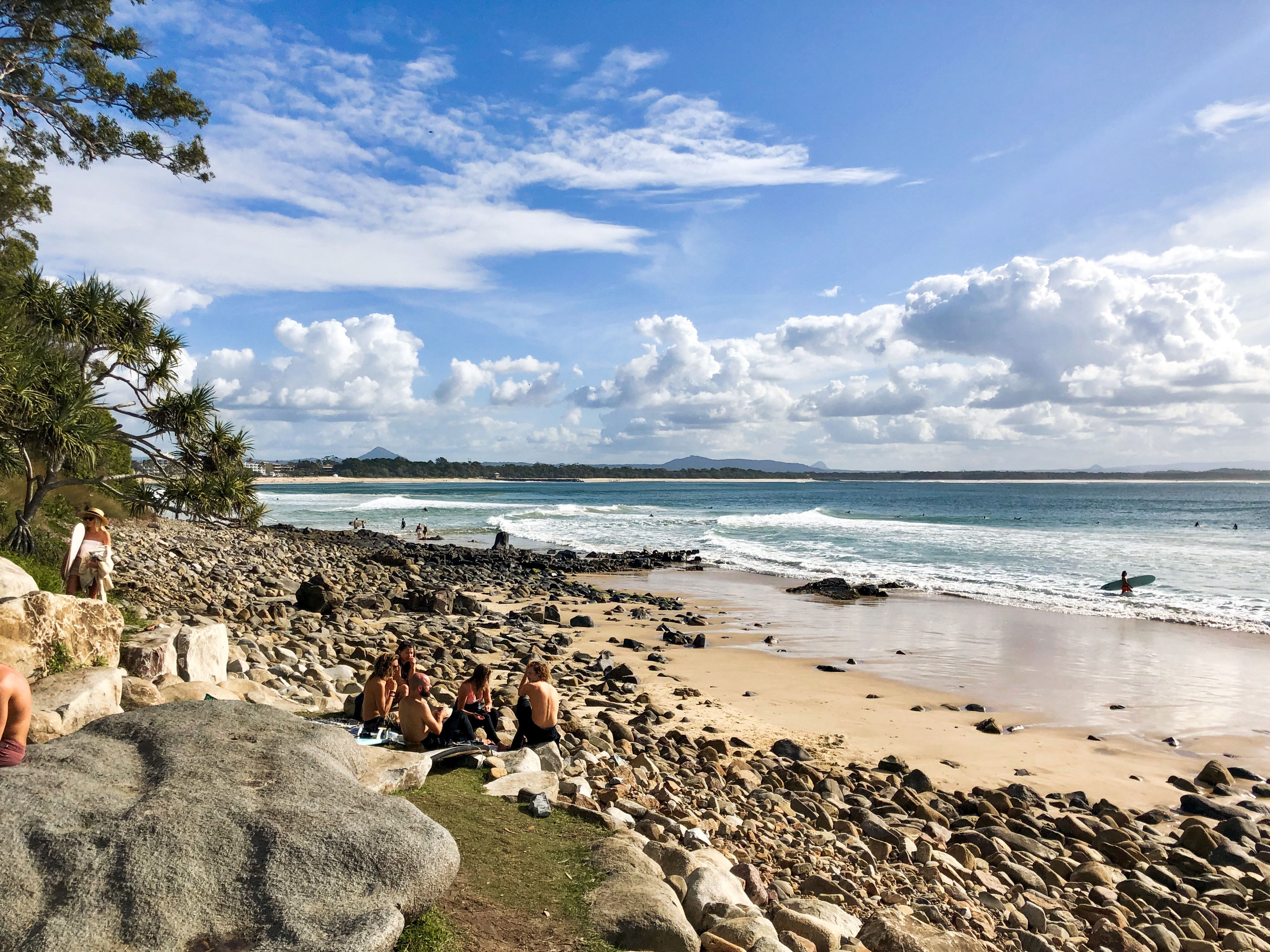 Noosa is so photogenic and very popular with surfers