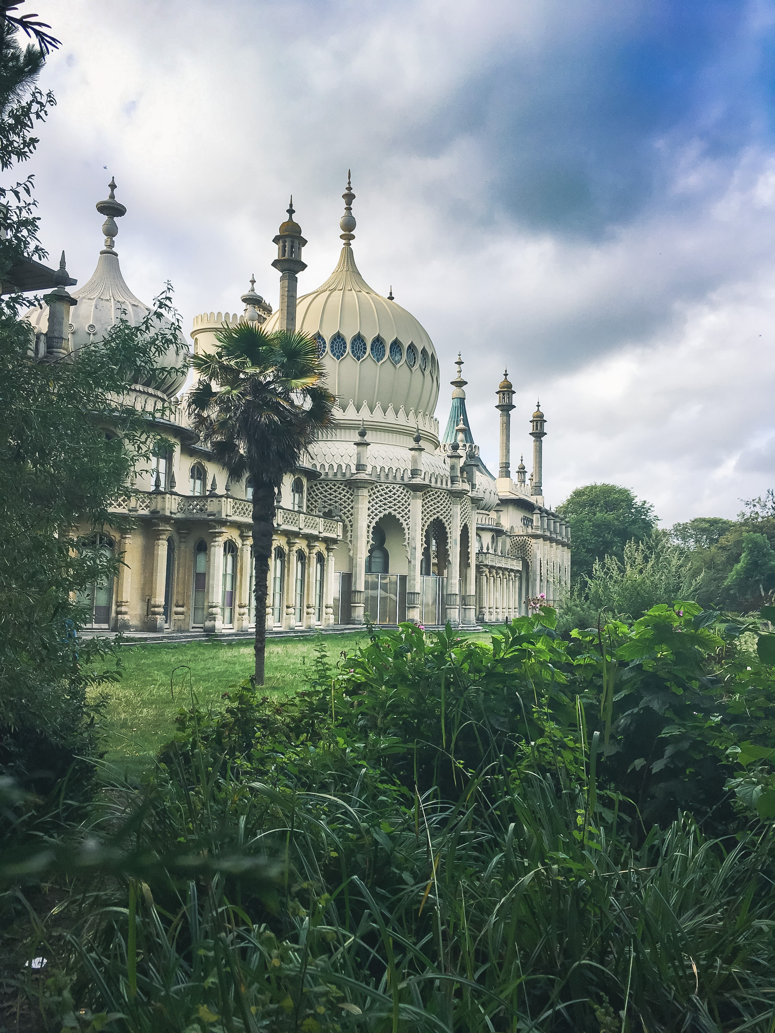 The beautiful Royal Pavilion in Brighton