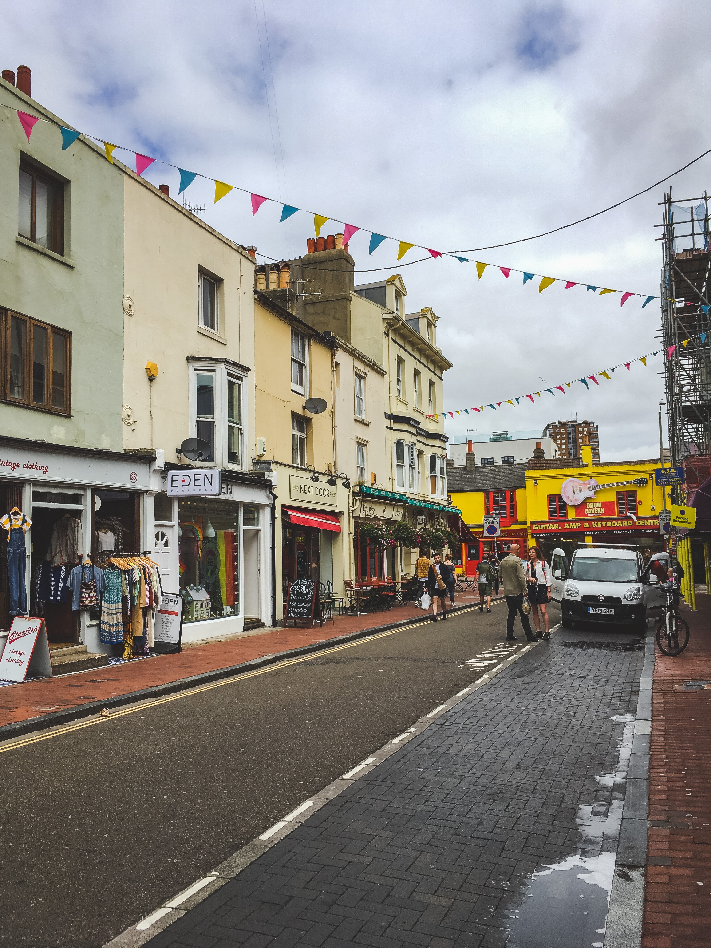 North Laine is a must-visit while in Brighton!