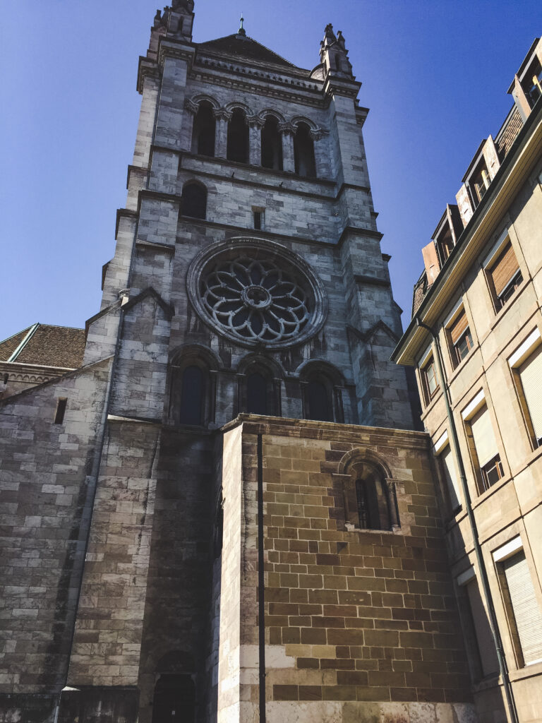 Begin exploring Geneva's Old Town by climbing the bell towers of Cathédrale St-Pierre for stunning views of the city