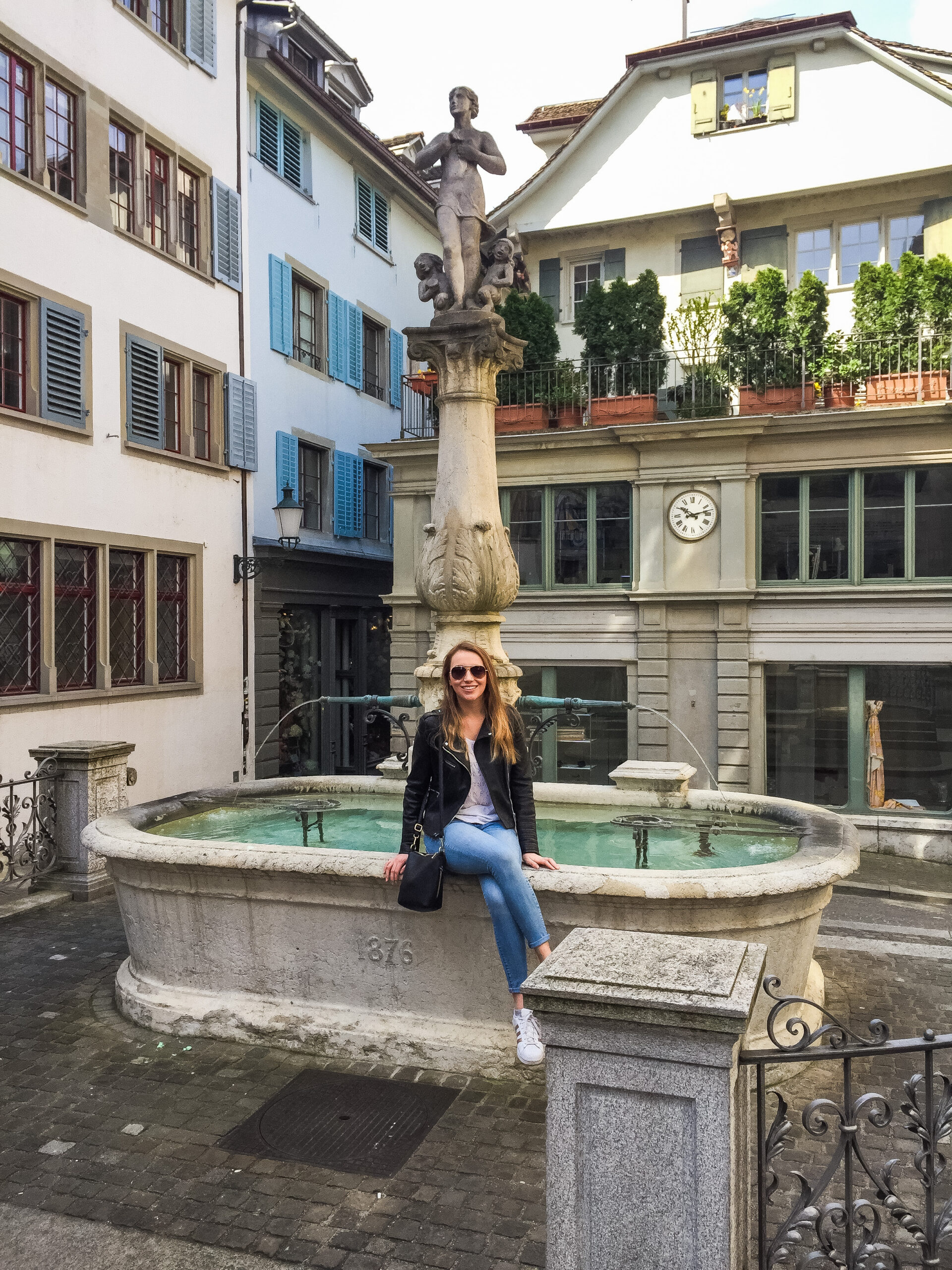 The old town streets of Zürich, Switzerland are a fairytale!