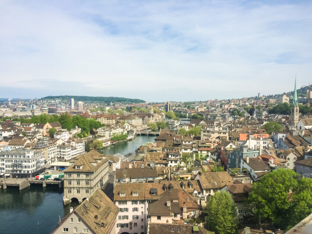 Climb Karlsturm for beautiful views of the city and lake!