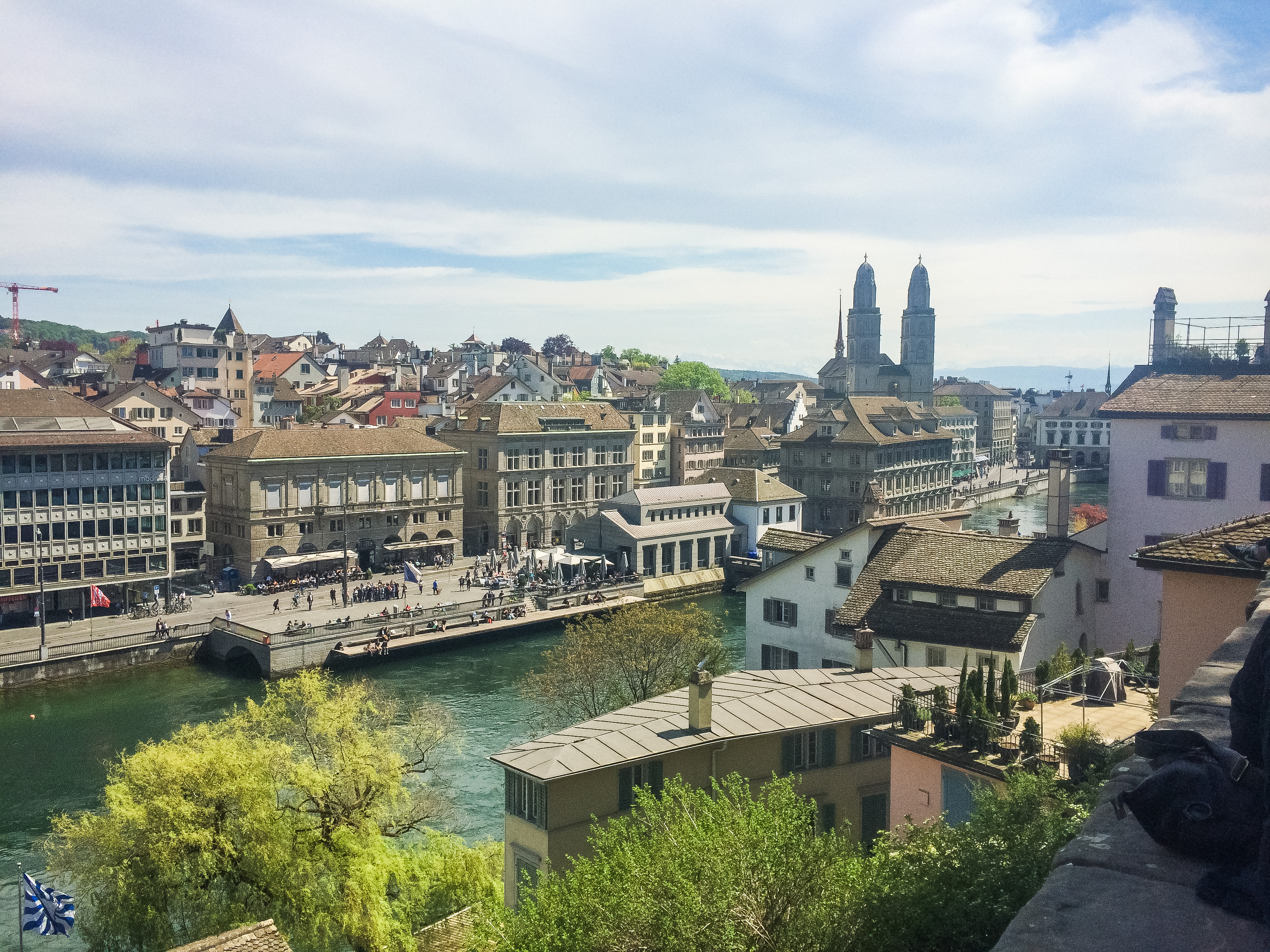 Zürich is a beautiful city that still maintains the charm of it's old town and the elegance of Swiss culture.