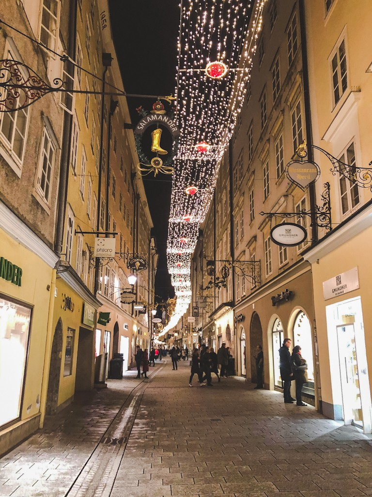 Salzburg is so full of history no matter where you are in the city. On the right bank of the Salzach River, Steingasse was the main trade route to Italy in medieval times. Look out for the house of Joseph Mohr, who wrote the lyrics to the classic Christmas carol Silent Night.