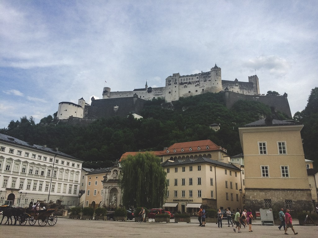 Salzburg's most famous icon is this 900-year-old cliff top fortress that watches over the city. Festung Hohensalzburg is considered one of the biggest and best preserved landmarks in Europe.