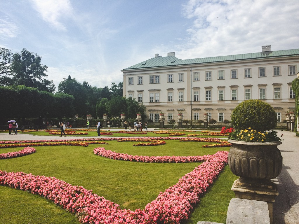 The Sound of Music fans will also recognise the Pegasus statue, the steps and the gnomes, where the von Trapps practised Do-Re-Mi.