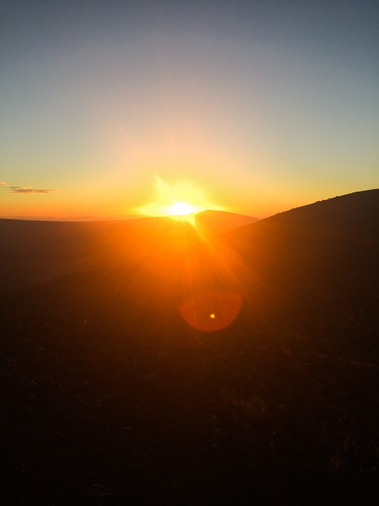 Visitors come from around the world to watch the sunsets from the summit of Mauna Kea