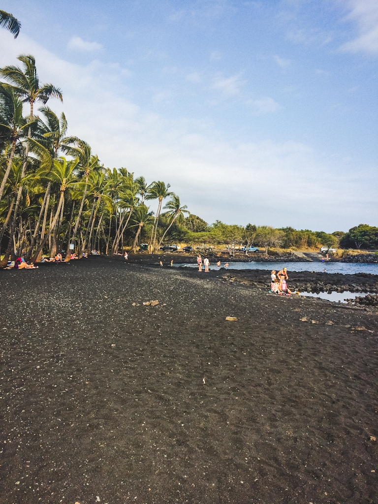 Punalu'u Black Sand Beach is so beautiful and unique!