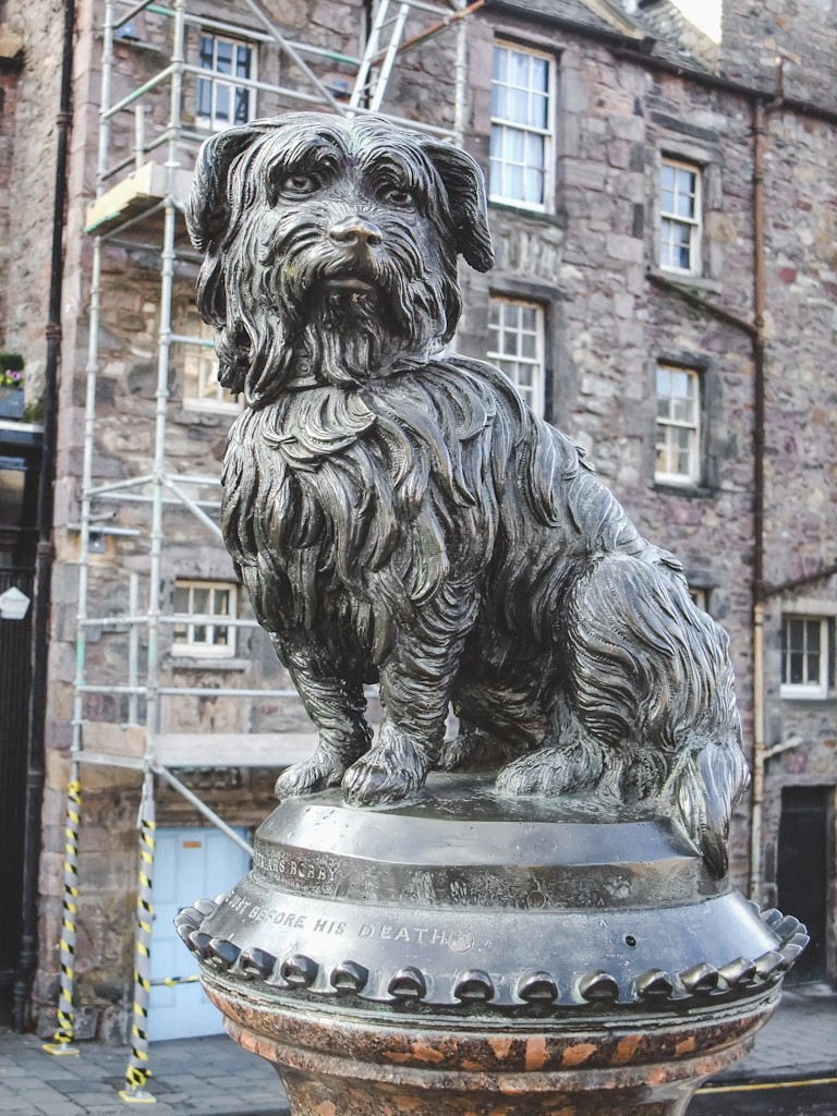 The life-size statue of Greyfriars Bobby is one of the most popular spots in Edinburgh! Bobby was a Skye terrier who captured the hearts of the British in the 1800's.