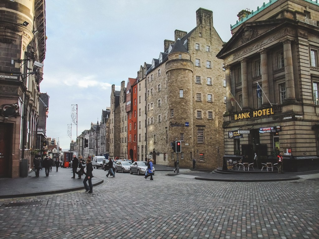 Another great option is the Radisson Blu Hotel right on the Royal Mile! It's a beautiful-looking boutique hotel that's very fitting to the surrounding area. Plus, what could be better than staying in an actual castle?