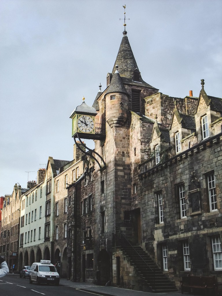 The Canongate Tolbooth was built in 1591 and served as a collection point for taxes, a council house, a courtroom, and a jail.