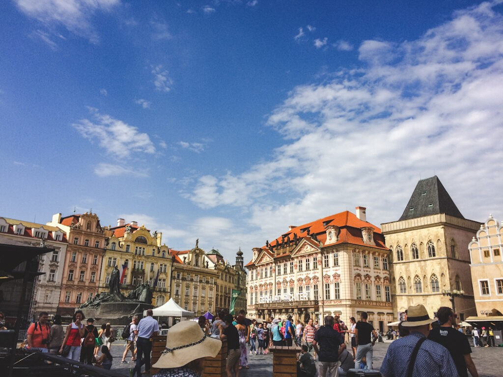 Prague is very easy to get to from cities like Budapest, Vienna, Bratislava, and Munich! This makes it a perfect weekend trip. Staying in the old town near the train station would be ideal to maximize your time here and try all of the delicious food unique to Prague!