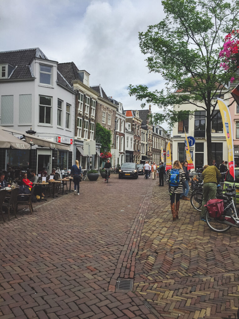 Stroll around the historic Domplein, the heart of the city, before wandering the canals and sitting at one of the many cafes here along the water.